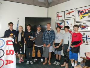Race day winners. Our future sailing champions. Photo Credit CISA