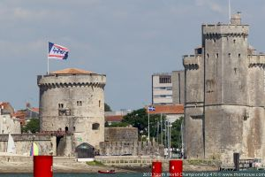 The historic old town of La Rochelle was buzzing with action from all the competitors.
